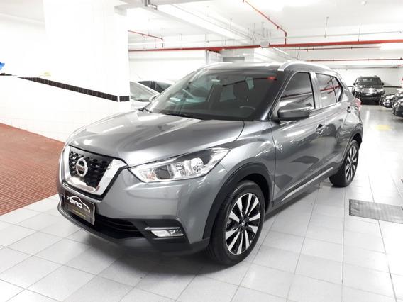 Nissan Kicks Sv 1.6 Flex Xtronic Cinza 2018 20 Mil Km