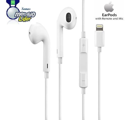 Originales Earpods iPhone 7 Plus Apple Lightning Micrófono