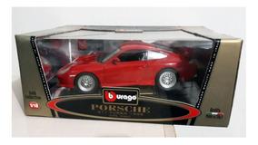 Miniatura Porsche 911 - Bburago - Escala 1:18