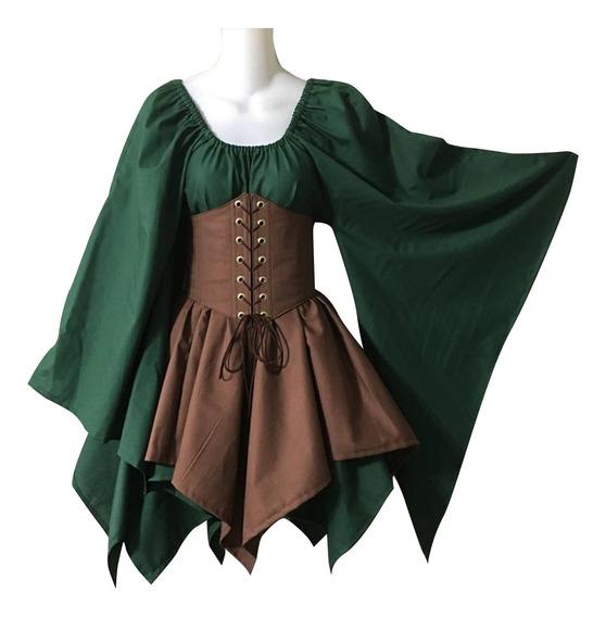 Vestido Medieval Renascentista Europeu