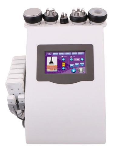 Cavitación Lipolaser Vacuum Con Fototerapia,radiofrec+lentes