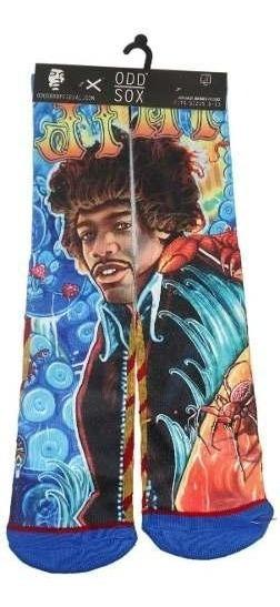 Odd Sox Calcetines Jimmy Hendrix Originales Y Nuevos