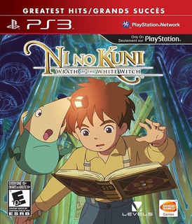 Ni No Kuni Wrath Of The White Witch En Español Ps3