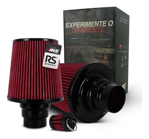 Filtro De Ar Esportivo Duplo Fluxo Multi678rsdl Vermelho