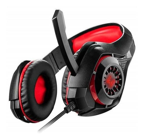 Headset Gamer Para Celular Pc Ps4 Xbox Warrior Rama Verde