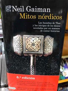 Neil Gaiman Mitos Nórdicos Editorial Destino Tapa Dura
