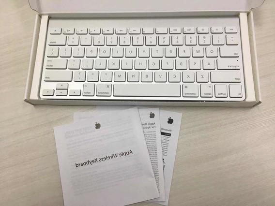 Apple Wireless Keyboard Mc184bz/b Teclado Original Caixa