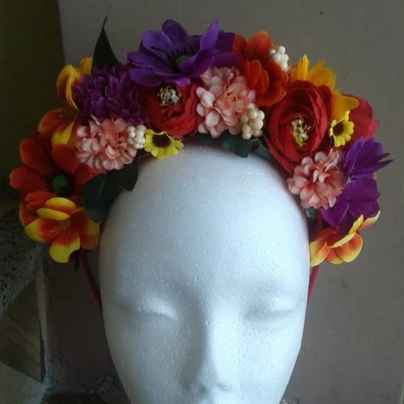 Diademas Coronas De Flores Artificiales