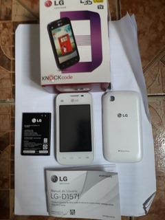 Celular LG L35 Dual Tv - LG-d157f ( Branco)