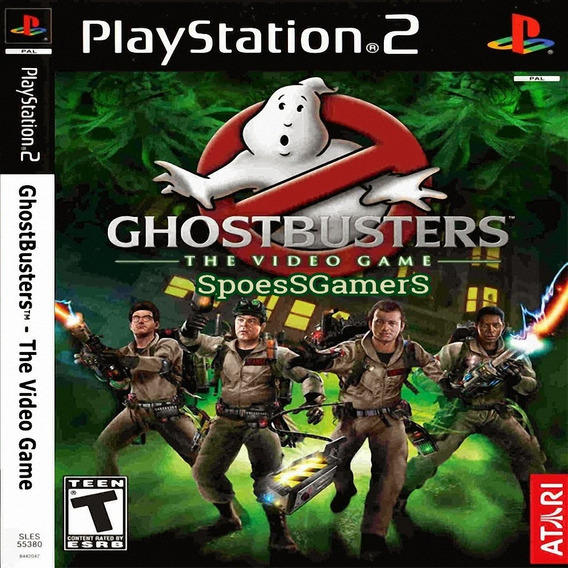 Caça Fantasmas ( Ghostbusters ) Ps2 Desbloqueado Patch