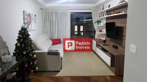 Apartamento Com 4 Dormitórios À Venda, 115 M² - Santo Amaro - São Paulo/sp - Ap31576