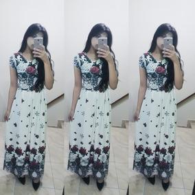 b67fade52f Frete Gràtis Lindos Vestidos Longos Moda Menina Modesta