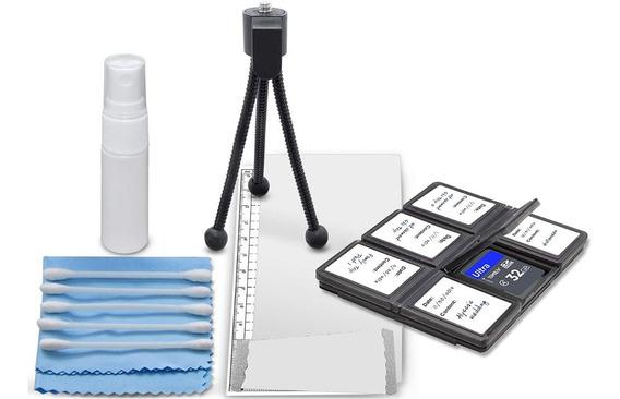 Kit De Limpeza Para Câmera E Lentes