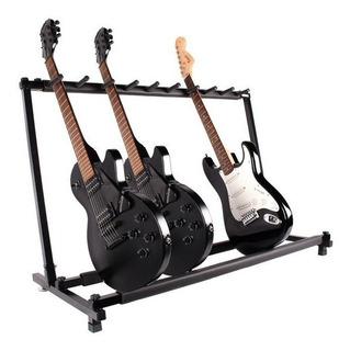 Stand Para 7 Guitarras Electrica, Acustica