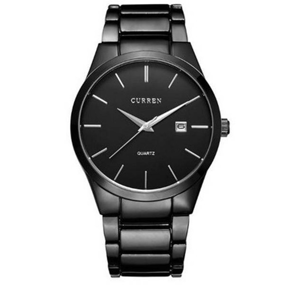 Relógio Mascul Curren Importado Original 8106 Preto Garantia