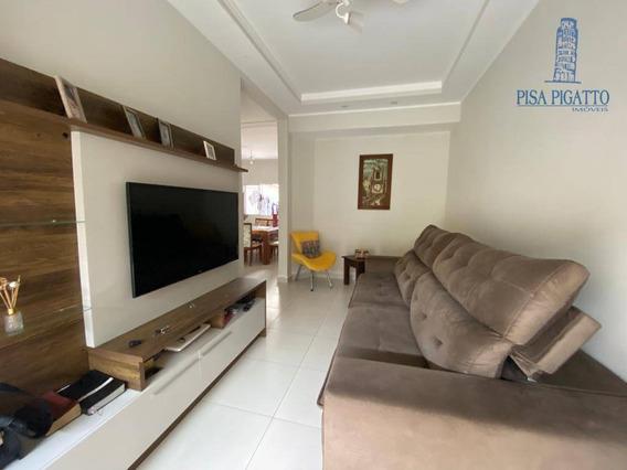 Casa Com 4 Dormitórios À Venda, 160 M² Por R$ 450.000,00 - Vila Monte Alegre V - Paulínia/sp - Ca2221