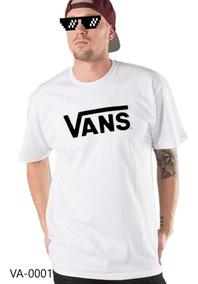 Playera Vans Clásica Skate Camiseta La Más Solicitada