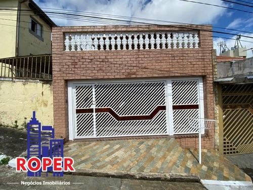 Excelente Sobrado Com 131 M²/3 Dormitórios/2 Vagas À Venda No Bairro Penha De França, São Paulo - Ca00290 - 69660880