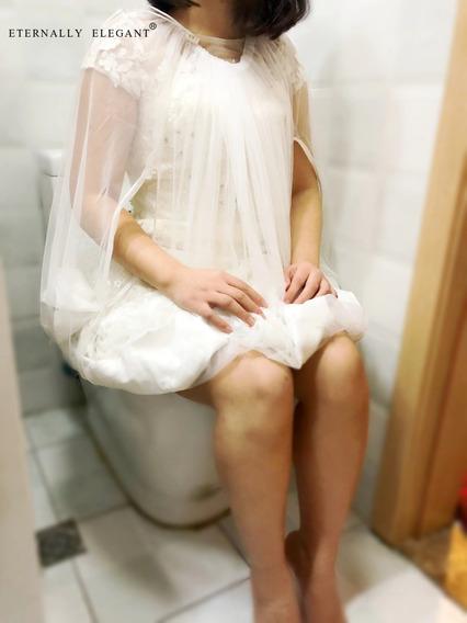 Vestido De Apoio Para Levantar Vestido De Noiva No Banheiro