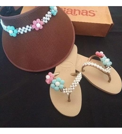 Kit Praia // Havaianas Customizadas