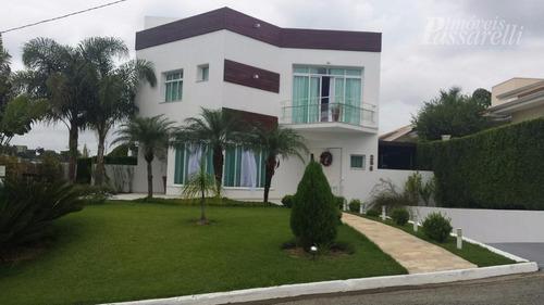 Casa Com 4 Dormitórios À Venda, 640 M² Por R$ 2.480.000,00 - Condomínio Vista Alegre - Sede - Vinhedo/sp - Ca1906