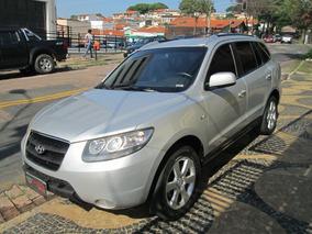 Hyundai Santa Fe Aut. Completa 2008 Prata Gasolina