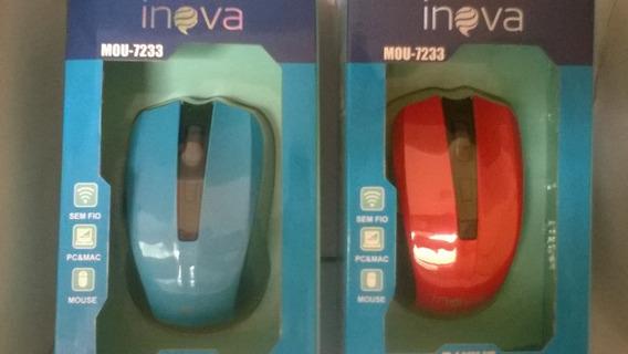 Kit Com 2 Mouses Sem Fio Para Pc, Notebook, Wireless