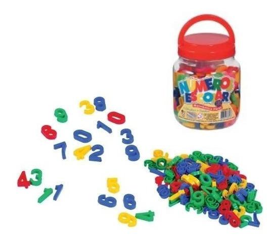 Kit Didático Numeros Jogo Numerais 150 Pçs Infantil