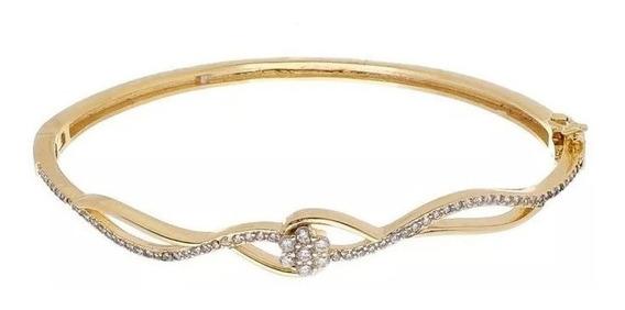 Bracelete Cravejado De Zircônia