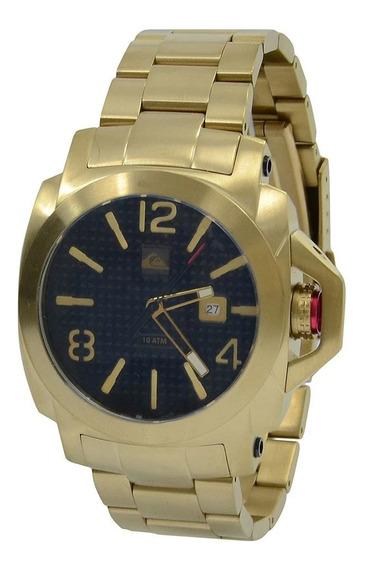 Relógio Quiksilver Lanai Ss Original Dourado/preto