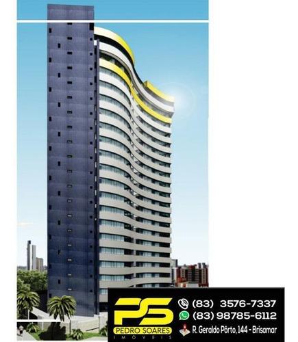 Imagem 1 de 6 de ( Oferta ) - Flat Excelente P/ Morar Ou Investir Em Miramar - Fl0004