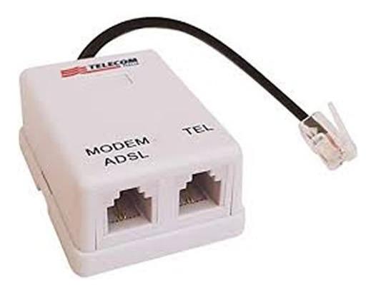 Microfiltro Doble Adsl Para Telecom / Telefonica