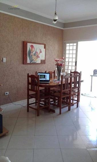 Casa Residencial À Venda, Jardim Santa Cruz, Mogi Guaçu. - Ca0310
