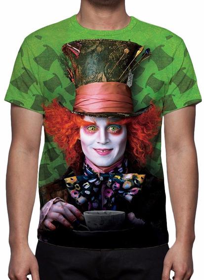 Camisa, Camiseta O Chapeleiro Maluco (johnny Depp)