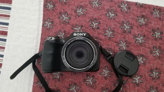 Camera Sony Dsc H300 (em Ótimo Estado E Bolsa Inclusa)