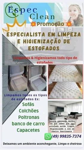 Imagem 1 de 2 de Especclean - Especialista Em Limpeza E Higienização De Estof
