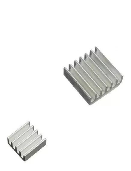 Kit 2 Dissipadores Raspberry Pi 2 Pi2 / Pi 3 Pi3 Aluminio