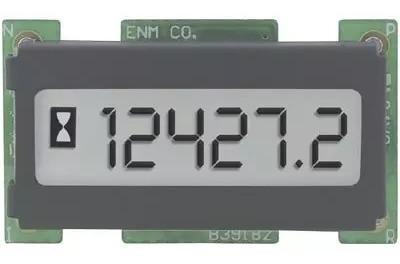 Horímetro Digital 6 Dígitos Visor Lcd Enmco T1101ab