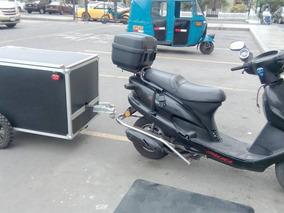 Vendo Moto Con Trailer . Italika 2.500 Nuevos Soles