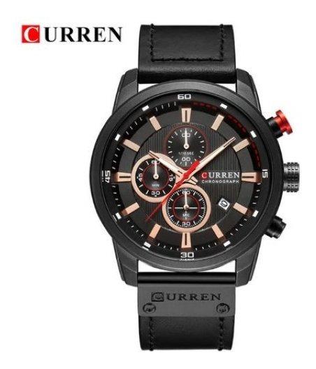 Relógio Masculino Curren M 8291 Preto Promoção