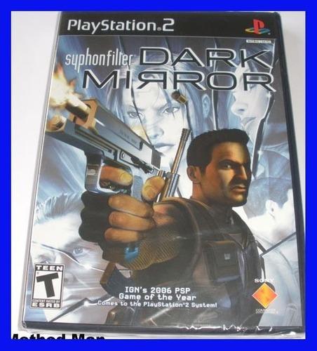 Syphon Filter Ps2 Dark Mirror Original Playstation 2 Barato