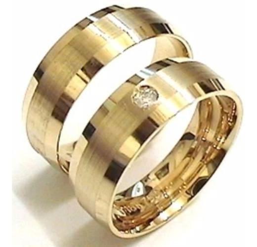 Alianças Em Ouro 18k Para Casamento Ou Noivado