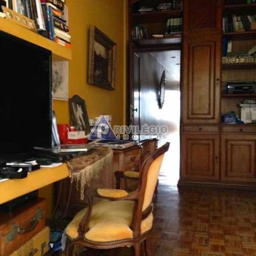 Apartamento À Venda, 3 Quartos, 1 Suíte, 1 Vaga, Lagoa - Rio De Janeiro/rj - 6609