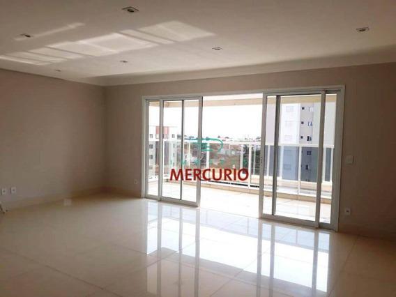 Apartamento Com 4 Dormitórios Para Alugar, 200 M² Por R$ 3.900/mês - Jardim América - Bauru/sp - Ap3387