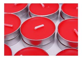 48 Velas De Té Con Aroma A Berries O Frutos Rojos Tea Lights