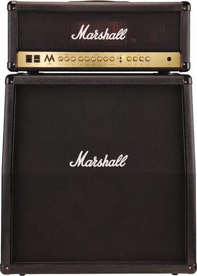 Equipo Valvular Marshall Ma 100 Cabezal + Caja 4x12