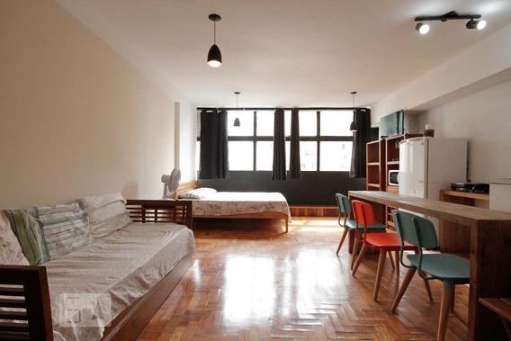 Apartamento Para Aluguel - Centro, 1 Quarto, 37 - 893055213