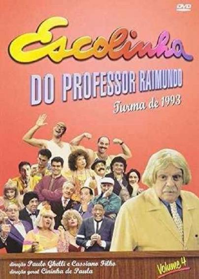 Escolinha Do Professor Raimundo Vol.4 - Dvd Série Comédia
