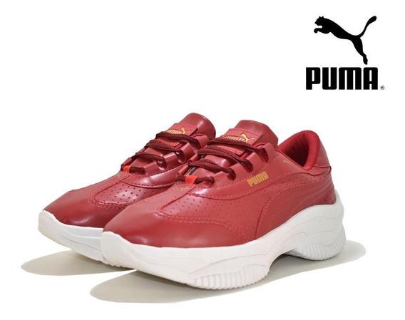 Tênis Feminino Outlet Promoção Puma Plataforma Varias Cores