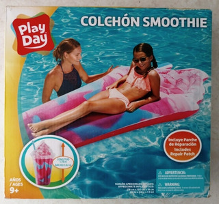 Colchón Inflable De Malteada Play Day Nuevo